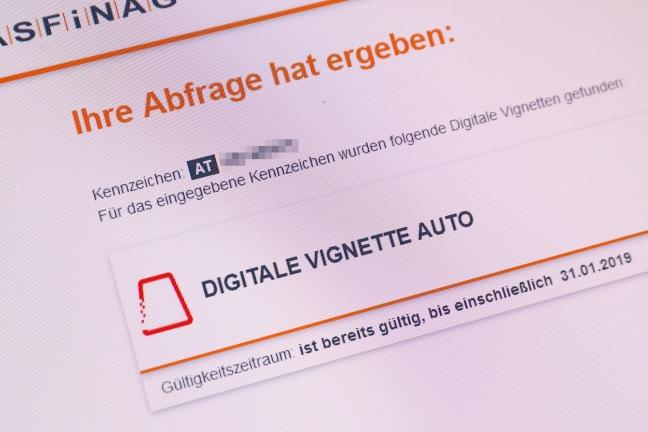 Kirschrote oder digitale Vignette für 2018 ab morgen Pflicht   Foto: laumat.at/Matthias Lauber