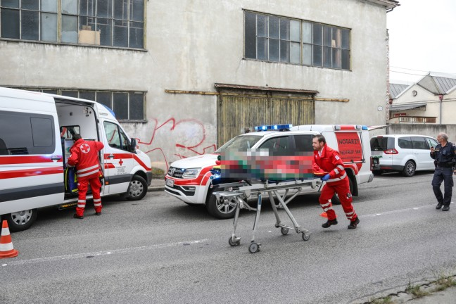 Tatverdächtiger (37) nach Messerattacke auf Frau in Wels-Innenstadt festgenommen | Foto: laumat.at/Matthias Lauber