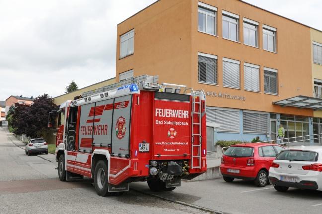 Brand in der Neuen Mittelschule Bad Schallerbach | Foto: laumat.at/Matthias Lauber
