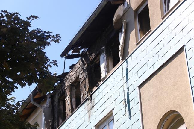 Sieben Verletzte Nach Explosion Und Brand In Einer Wohnung In Linz Neue Heimat Laumat At