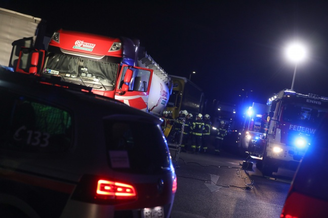 Los camioneros rescatados sin vida de la cabina del conductor en el área de descanso de West Autobahn cerca de Enns