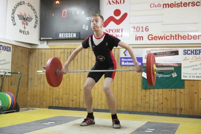 Spannende Clubmeisterschaft der Gewichtheber des ESV Wels   Foto: laumat.at/Matthias Lauber