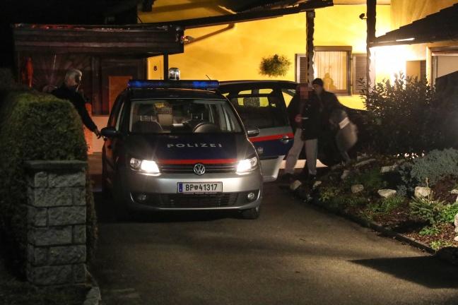 Nächtlicher Cobra-Einsatz in Hofkirchen an der Trattnach endet mit Festnahme | Foto: laumat.at/Matthias Lauber