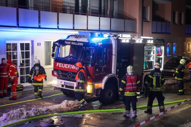 Ermittlungen nach Ursache für Brand in Bad Schallerbach | Foto: laumat.at/Matthias Lauber