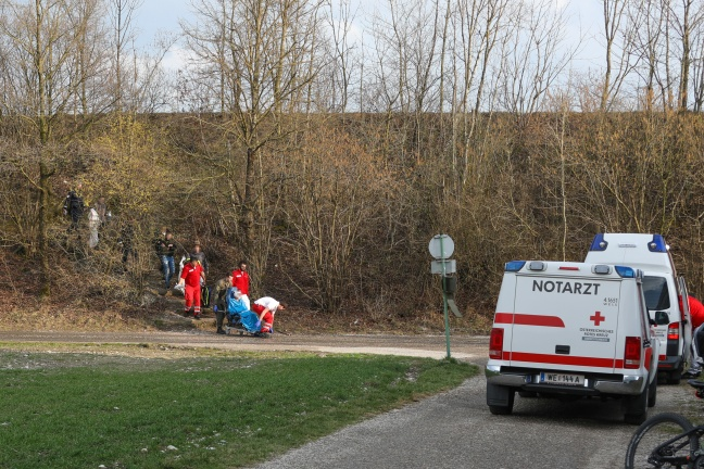 Schwere Hundebissverletzung bei Spaziergang mit Hund in Wels-Schafwiesen | Foto: laumat.at/Matthias Lauber