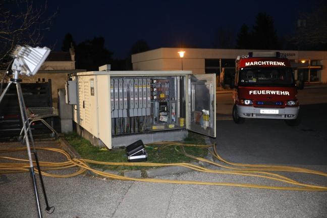 Stromausfall Nach Defekt An Trafostation In Marchtrenk Laumatat