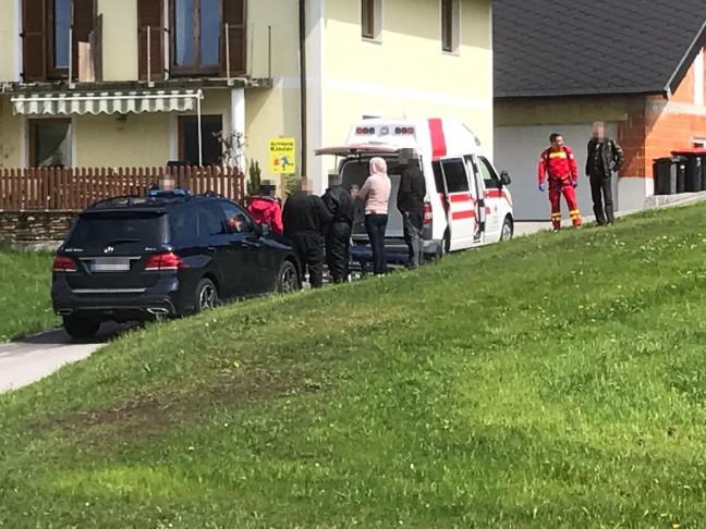Notarzthubschrauber nach Tauchunfall in Weyregg am Attersee im Einsatz | Foto: Anel Velic