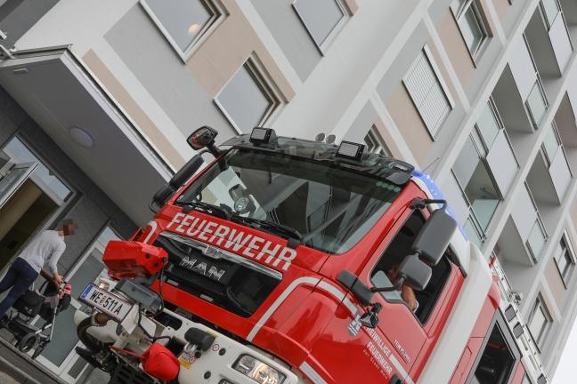 Brandmeldealarm im Maria-Theresia-Hochhaus glücklicherweise nur Täuschungsalarm | Foto: laumat.at/Matthias Lauber