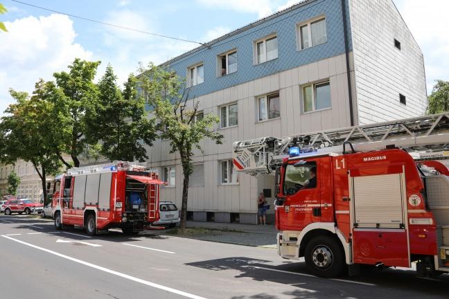 Brand eines Backrohrs in der Küche eines Mehrparteienwohnhauses in Wels-Innenstadt | Foto: laumat.at/Matthias Lauber