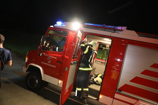 Nächtliche Suchaktion nach demenzkranker Person in St. Marienkirchen an der Polsenz | Foto: laumat.at/Matthias Lauber
