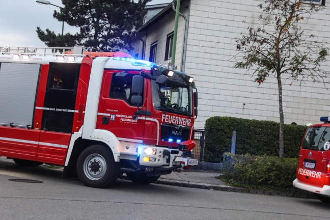 Brandverdacht durch technischen Defekt an Heizungsanlage   Foto: laumat.at/Matthias Lauber