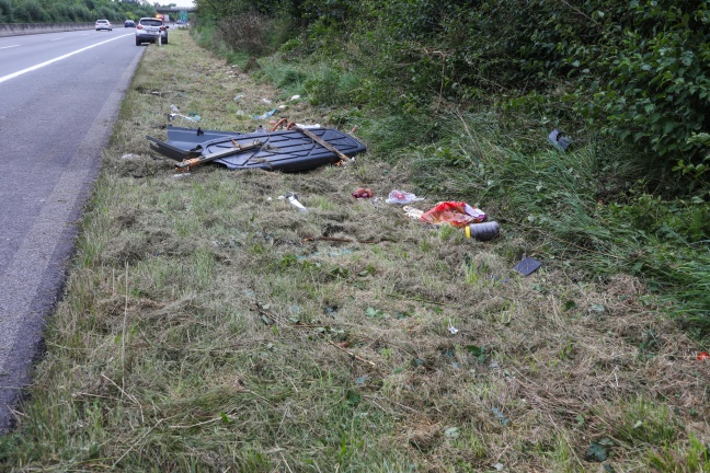 Tödlicher Verkehrsunfall auf der Innkreisautobahn bei Peterskirchen | Foto: laumat.at/Matthias Lauber