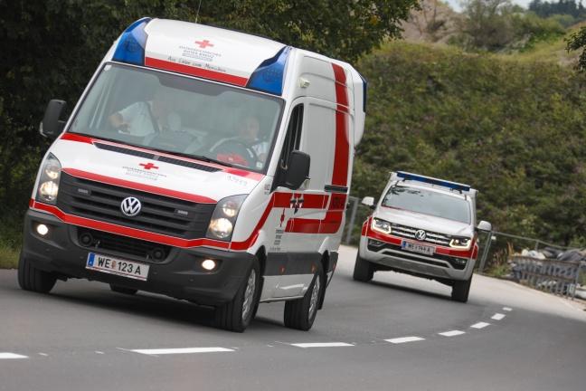 Arbeitsunfall bei Wartungsarbeiten in Wels-Schafwiesen fordert einen Verletzten | Foto: laumat.at/Matthias Lauber