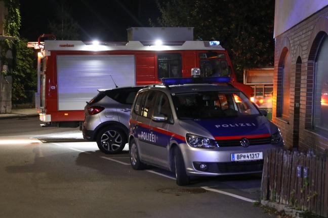 Brand im Heizraum eines Wohnhauses in Gaspoltshofen schnell gelöscht | Foto: laumat.at/Matthias Lauber