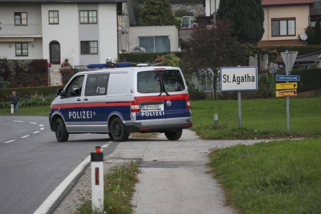 Große Suchaktion nach abgängigem Mann in St. Agatha | Foto: laumat.at/Matthias Lauber