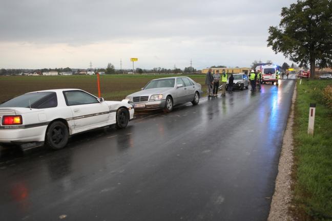 Verkehrsunfall in Gunskirchen fordert eine Leichtverletzte | Foto: laumat.at/Matthias Lauber