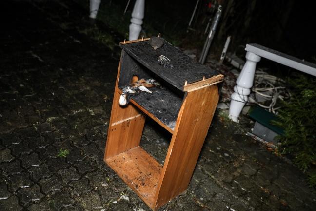 Kerze löst Brand in einem Wohnhaus in Marchtrenk aus | Foto: laumat.at/Matthias Lauber