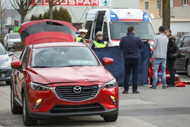 Fußgängerin in Wels-Vogelweide von Auto erfasst und getötet   Foto: laumat.at/Matthias Lauber