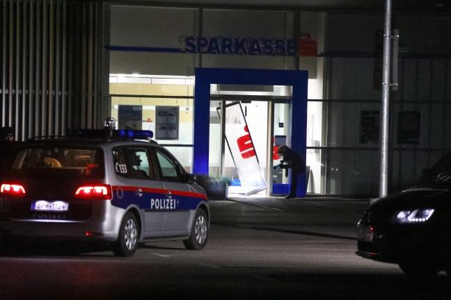 Nächtlicher Bankomatcoup in einer Bankfiliale in Buchkirchen | Foto: laumat.at/Matthias Lauber