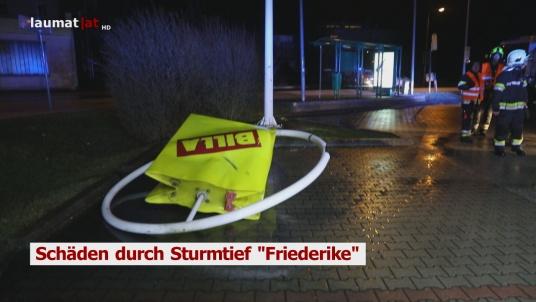 """Schäden durch Sturmtief """"Friederike"""""""