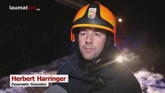 Herbert Harringer, Feuerwehr Gmunden