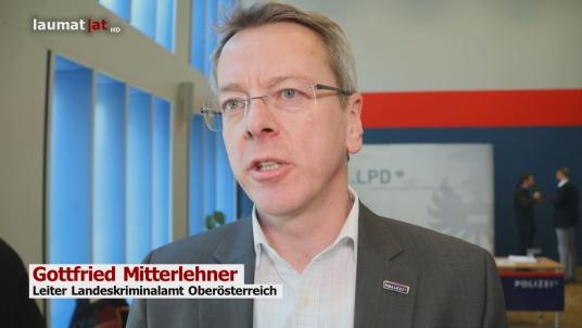Gottfried Mitterlehner, Leiter Landeskriminalamt Oberösterreich