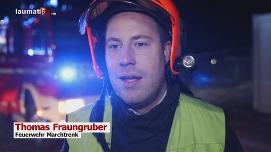 Thomas Fraungruber, Feuerwehr Marchtrenk