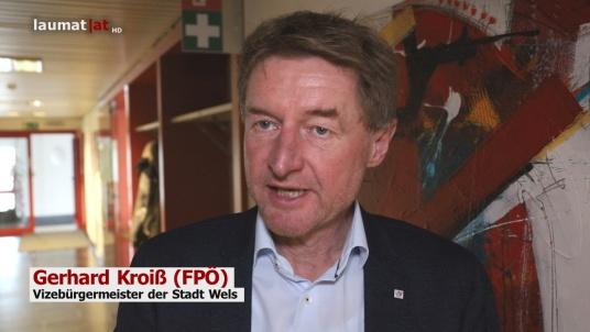 Gerhard Kroiß (FPÖ), Vizebürgermeister der Stadt Wels