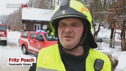 Fritz Posch, Feuerwehr Gosau