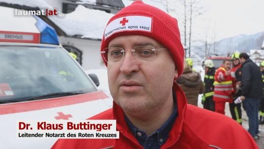 Dr. Klaus Buttinger, Leitender Notarzt des Roten Kreuzes