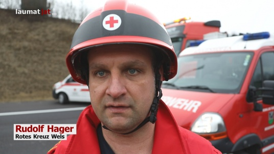 Rudolf Hager, Rotes Kreuz Wels