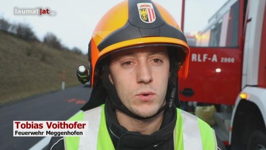Tobias Voithofer, Feuerwehr Meggenhofen