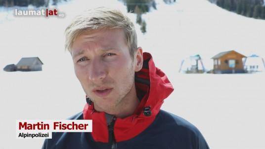 Martin Fischer, Alpinpolizei