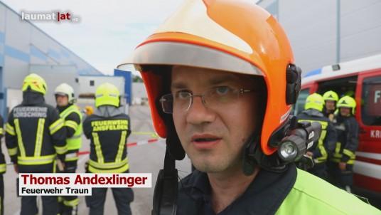 Thomas Andexlinger, Feuerwehr Traun