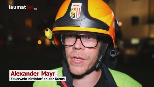 Alexander Mayr, Feuerwehr Kirchdorf an der Krems
