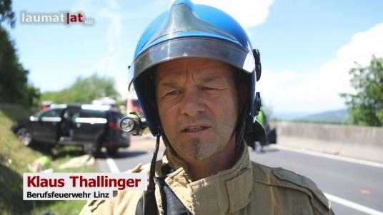 Klaus Thallinger, Berufsfeuerwehr Linz