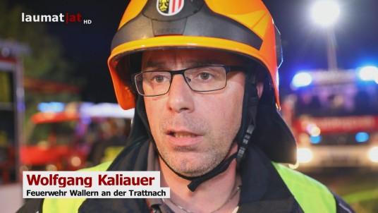 Wolfgang Kaliauer, Feuerwehr Wallern an der Trattnach