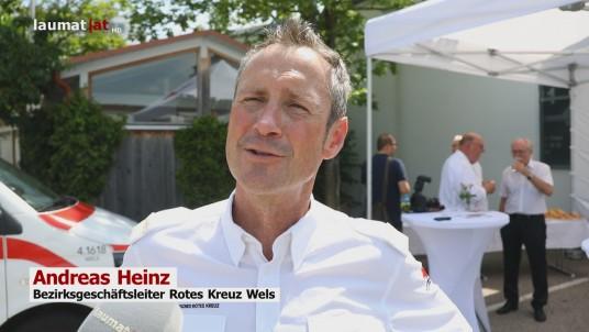 Andreas Heinz, Bezirksgeschäftsleiter Rotes Kreuz Wels