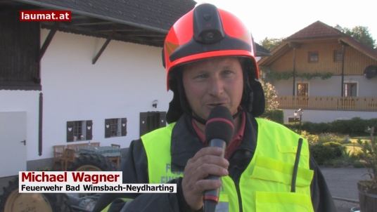 Michael Wagner, Feuerwehr Bad Wimsbach-Neydharting