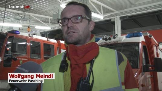 Wolfgang Meindl, Feuerwehr Pasching