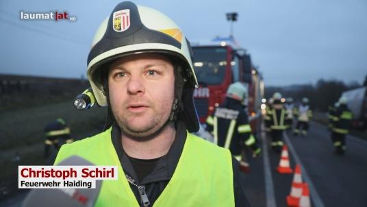 Christoph Schirl, Feuerwehr Haiding