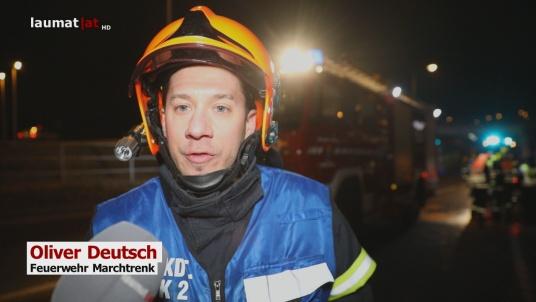 Oliver Deutsch, Feuerwehr Marchtrenk