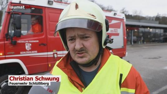 Christian Schwung, Feuerwehr Schlüßlberg