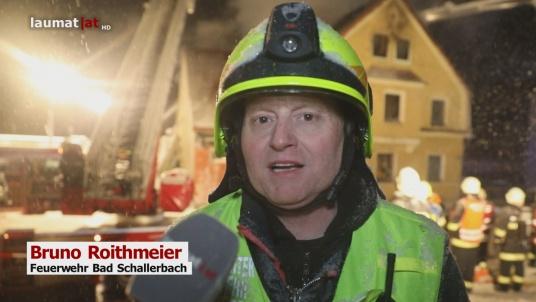 Bruno Roithmeier, Feuerwehr Bad Schallerbach