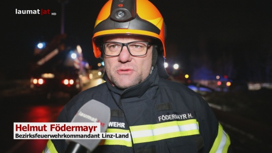 Helmut Födermayr, Bezirksfeuerwehrkommandant Linz-Land