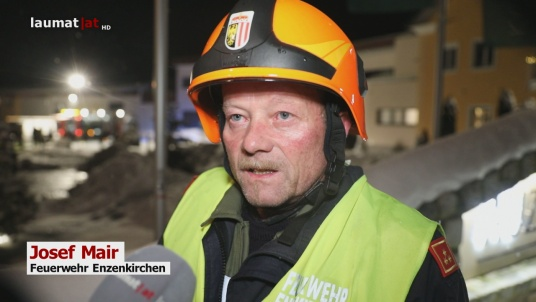Josef Mair, Feuerwehr Enzenkirchen