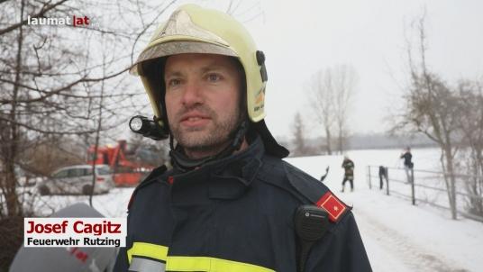 Josef Cagitz, Feuerwehr Rutzing