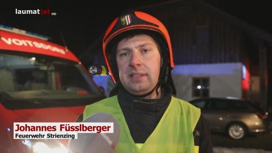 Johannes Füsslberger, Feuerwehr Strienzing