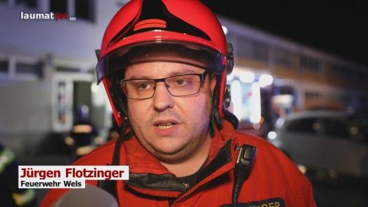 Jürgen Flotzinger, Feuerwehr Wels
