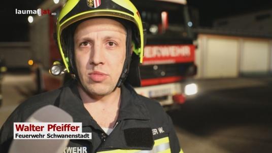 Walter Pfeiffer, Feuerwehr Schwanenstadt